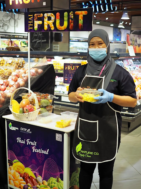 Thai Fruit Extravaganza @ AEON Mid Valley Supermarket