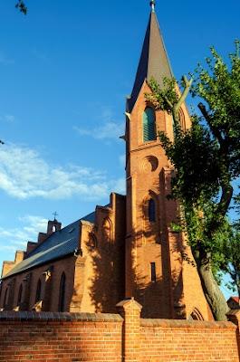 Kościoły neogotyckie na Pomorzu.