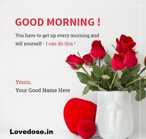 good morning my heart image