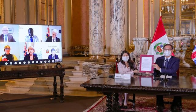 Acuerdo entre Perú y Reino Unido permitirá inversión de 7,000 millones soles