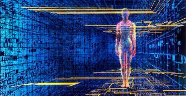 l'homme est un hologramme