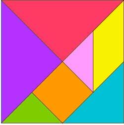 Uso del tangram en la escuela