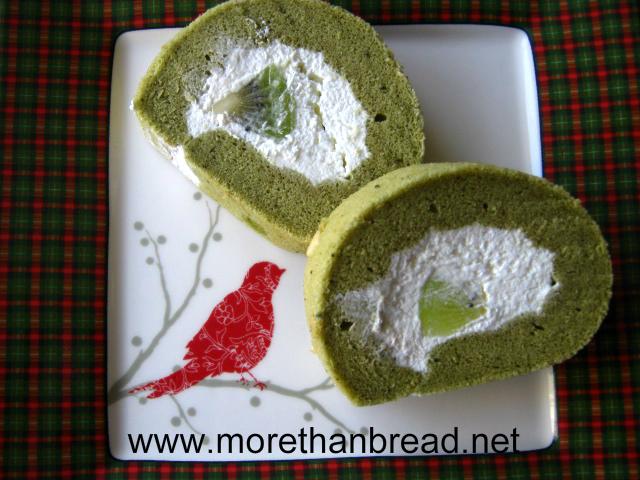 More Than Bread Green Tea Cake Roll 綠茶蛋卷
