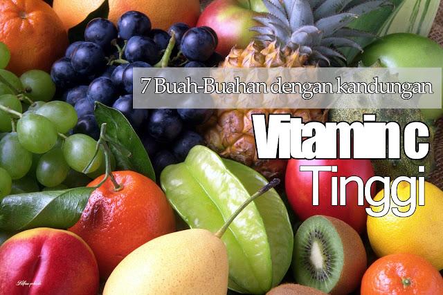 7 Buah-buahan yang banyak mengandung vitamin C tinggi