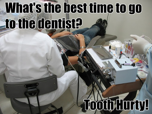 This tooth pun is a classic number pun for dentists.
