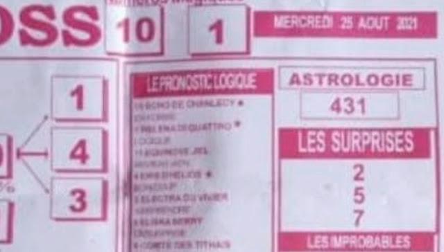 Pronostics quinté pmu Mercredi Paris-Turf TV-100 % 25/08/2021