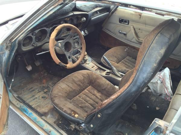 Interior Project, 1973 Toyota Celica
