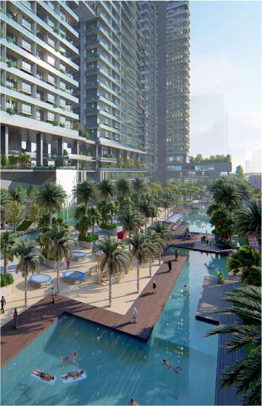 Dự án biệt thự trên không sky Villas Sunshine Crystal River Ciputra và hệ thống tiện ích đẳng cấp