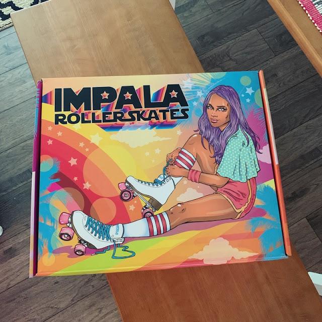 impala holographic quad rollerskates