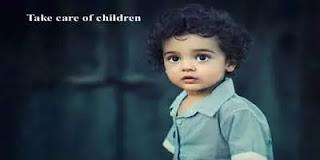 take care of children