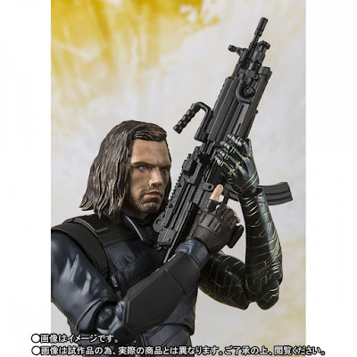 S.H.Figuarts Winter Soldier de Avengers: Infinity War - Tamashii Nations
