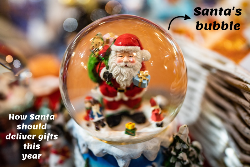 Santa's bubble