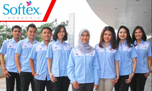 Lowongan Kerja Terbaru PT Softex Indonesia via Jobstreet