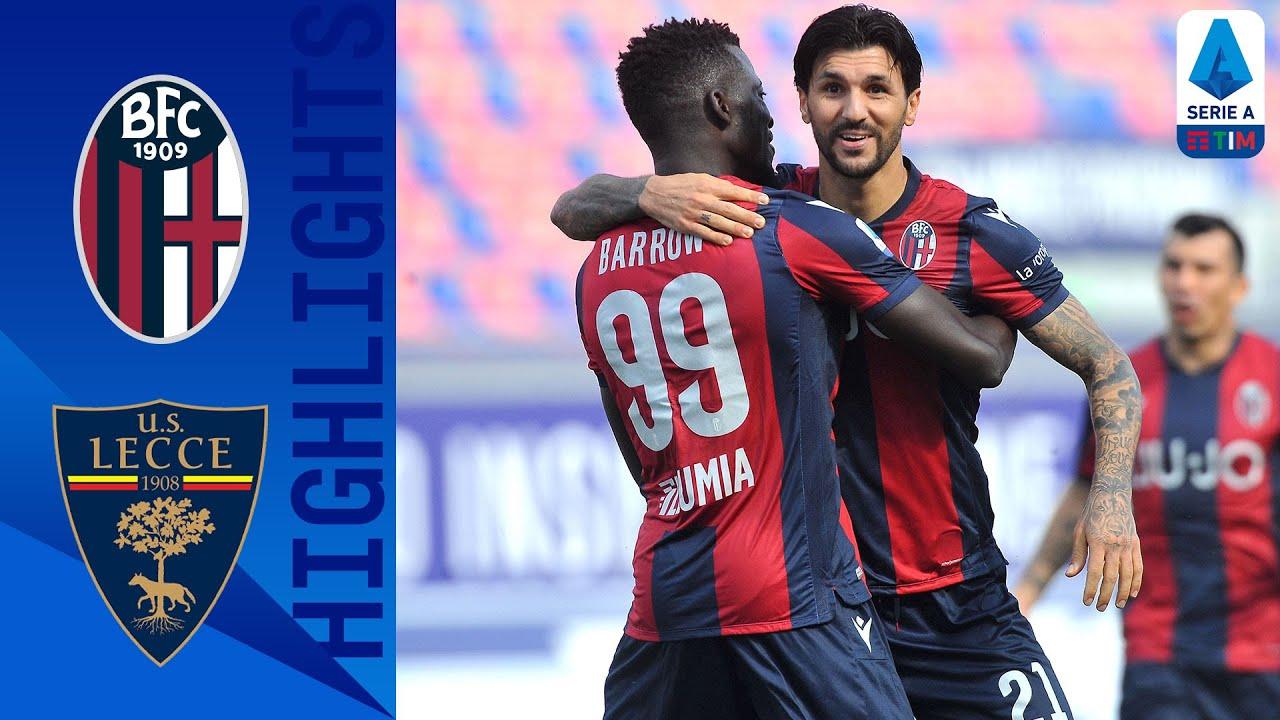 Video Bologna 3-2 Lecce: Bàn thắng phút bù giờ