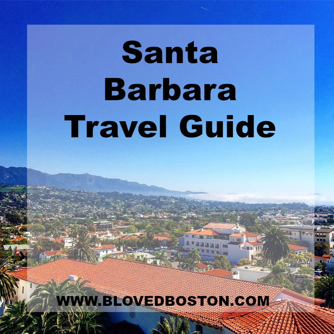 What to do in Santa Barbara, travel guide, jetsetting to santa barbara