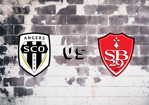 Angers vs Brest  Resumen