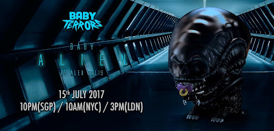 """Baby Alien"" Baby Terrors Vinyl Figure by Alex Solis x Mighty Jaxx"