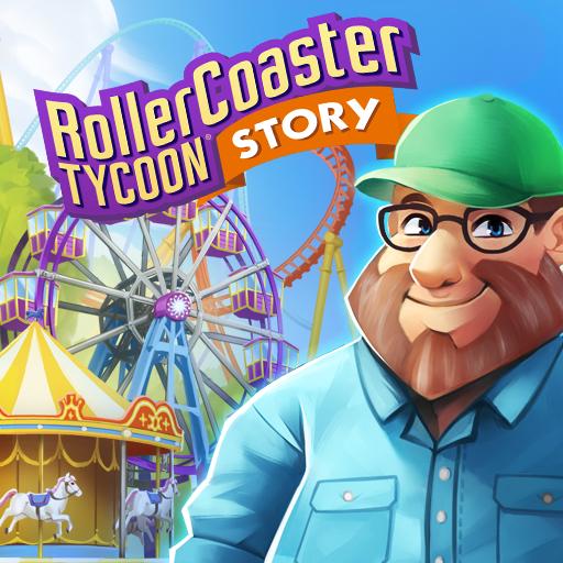 RollerCoaster Tycoon Story v1.3.5485 Apk Mod [Dinheiro Infinito]