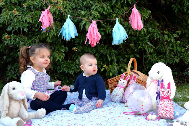 Teddy bears picnic with JoJo Maman Bebe Spring Summer 2018 Collection