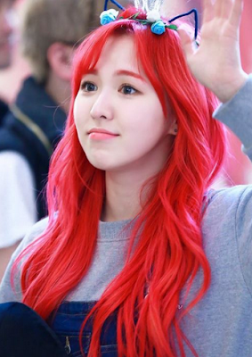 Red Velvet Hair Color Kpop (Hairstyle Updates - www.hairstyleupdates.com)