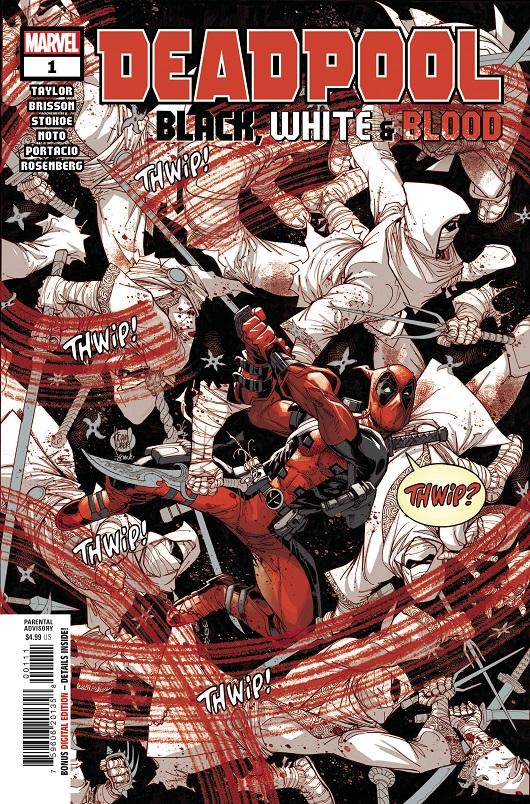 Deadpool Black, White & Blood #1