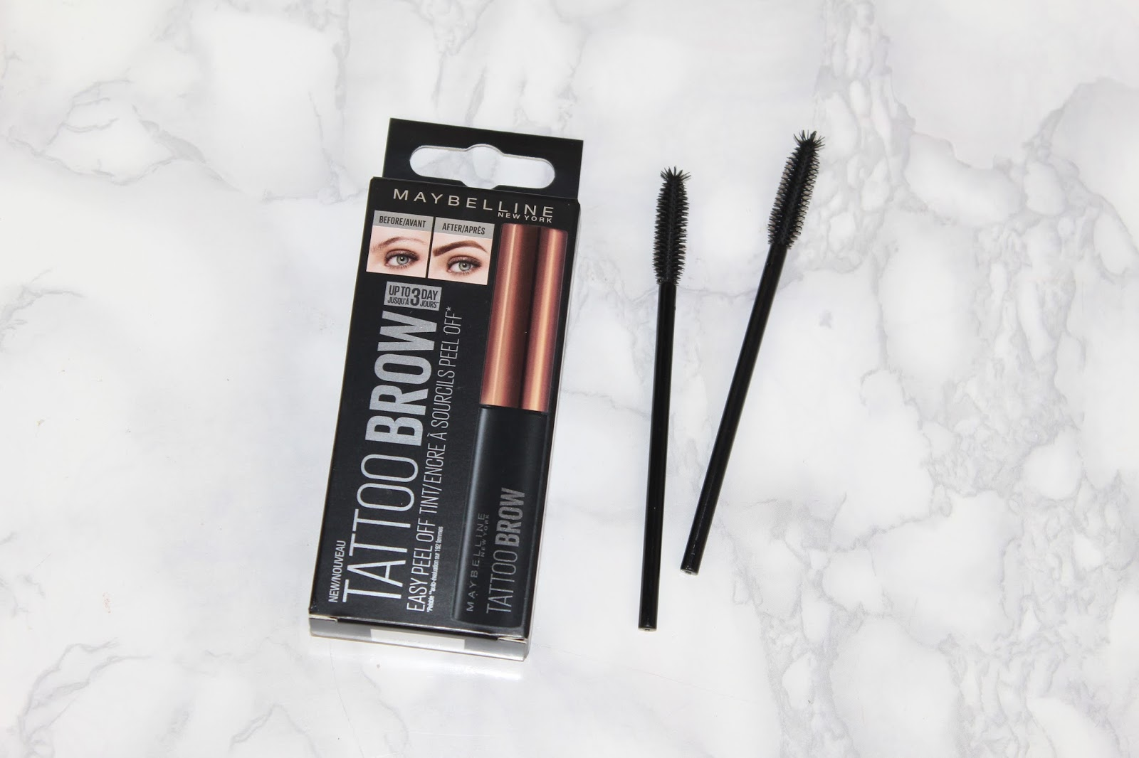 Maybelline Tattoo Brow Review And Photos Pink Paradise Beauty