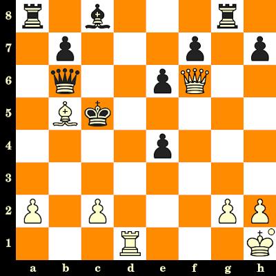 Les Blancs jouent et matent en 3 coups - Raj Tischbierek vs Endre Vegh, Budapest, 1983
