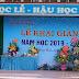 Trường THPT Hiệp Hòa số 3 (Bắc Giang) Dấu ấn 20 năm xây dựng và phát triển