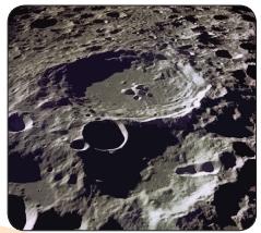 bentuk permukaan bulan www.simplenews.me