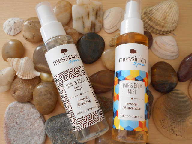 Messinian Spa Hair & Body Mists