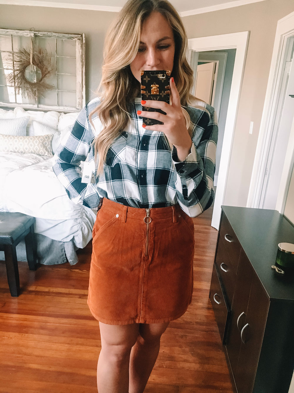 nordstrom anniversary sale plaid top