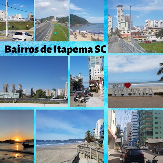 Bairros de Itapema