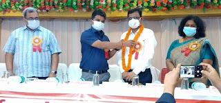 प्रांतीय चिकित्सा सेवा संघ ने विदाई एवं स्वागत समारोह का किया आयोजन    #NayaSaberaNetwork