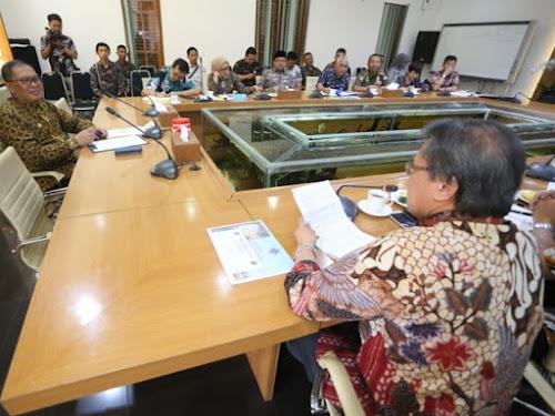 Audiensi PHRI dan Pemkot Bandung