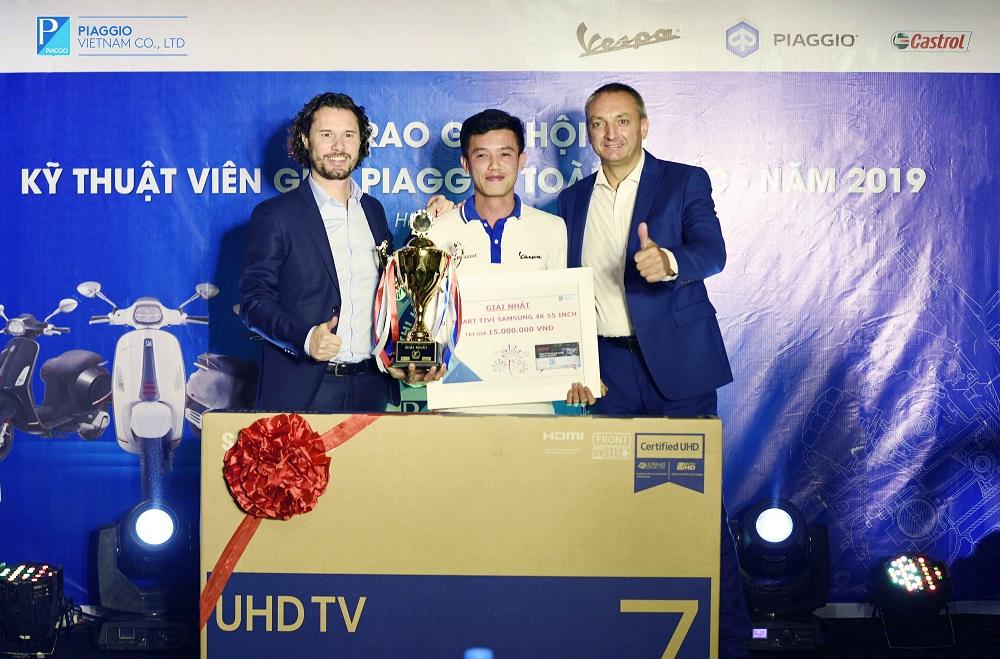Piaggio tổ chức Hội thi KTV giỏi toàn quốc 2019