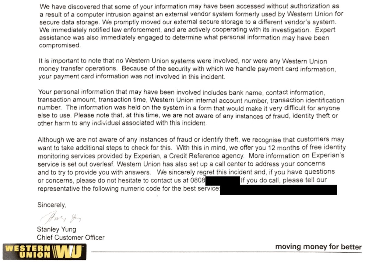 Western Union Money Transfer, Hacked | Hackers Chronicle - Online