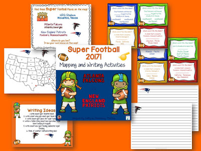 Super Bowl! If you know some Super Bowl fans, here are some great way to get them learning, including 2 freebies!