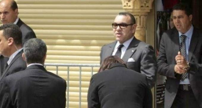 Herido grave el guardaespaldas del Rey de Marruecos mientras intentaba proteger al monarca.