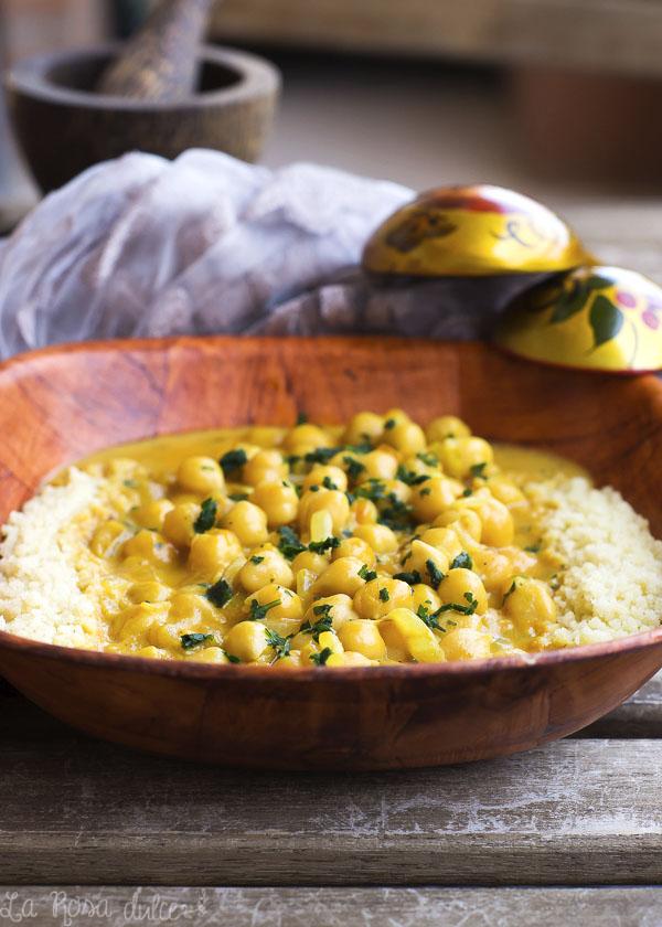 Curry de garbanzos #vegan
