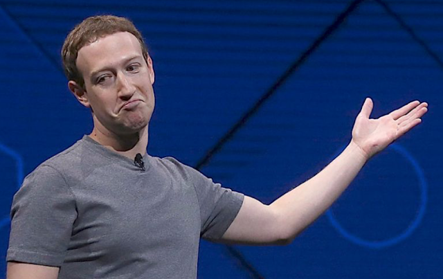 Zuckerberg loses more than $15 billion in record Facebook fall