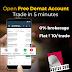 Free Demat Account Online - Open Your Free Demat Account in 5 Mins