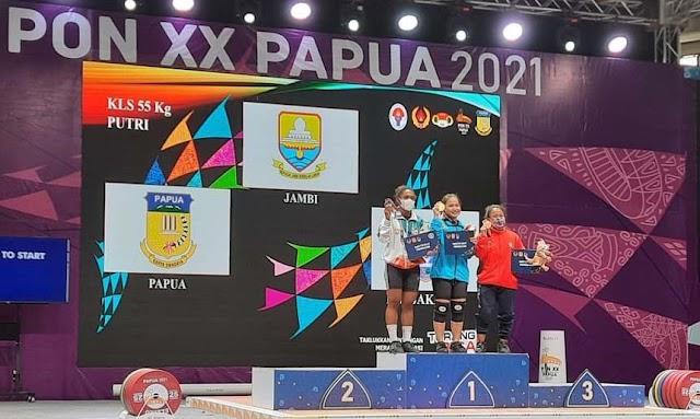 Klasemen Sementara Perolehan Medali PON Papua 2021 hingga Rabu 6 Oktober, Jambi Bertahan di 10 Besar