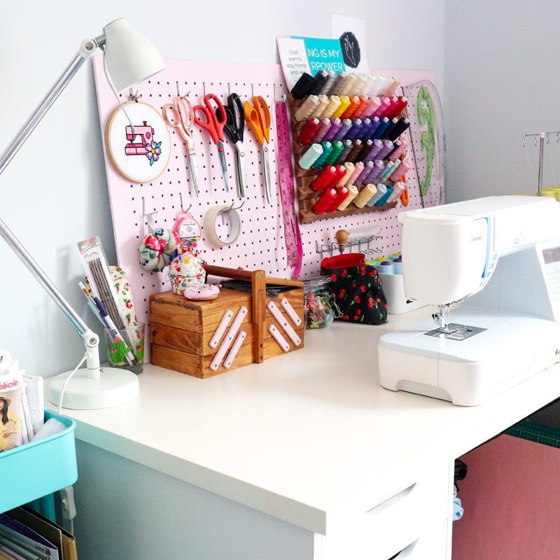 SHOP MY SEWING SPACE