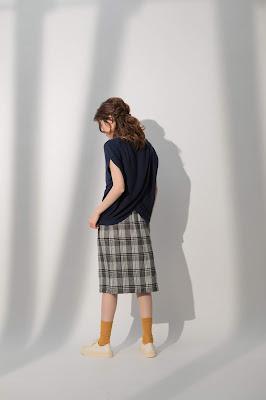 夢裡的星點圓點立體裙模特兒實穿