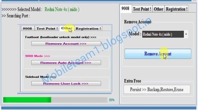 Miko redmi tool, mi cloud, Remove mi account, Test point, edl