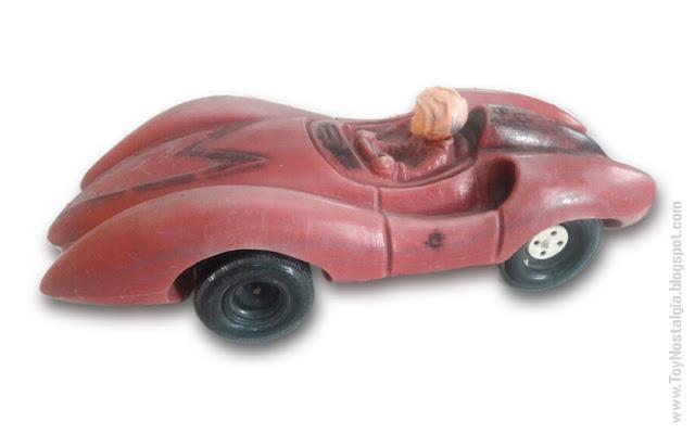 MACH 5  - Plástico inflado - años '70  Argentina - Fabricante desconocido  (METEORO - SPEED RACER - MACH Go Go Go)