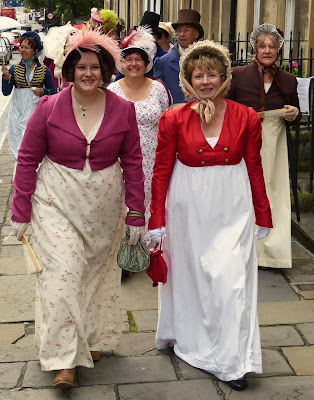 Jane Austen Festival 2015 Regency Promenade in Bath