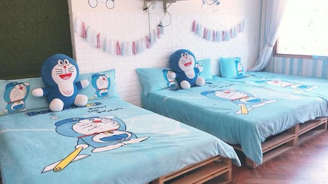 phòng ngủ Doremon