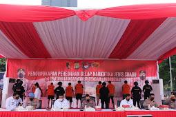 Listyo Sigit Prabowo Sebut Peredaran Narkoba Selama Pandemik Masih Tinggi