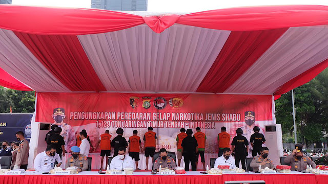 Listyo Sigit Prabowo Sebut Peredaran Narkoba Selama Pandemik Masih Tinggi .lelemuku.com.jpg